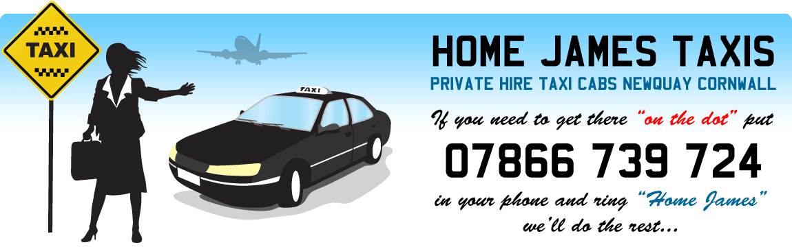 Private Hire Taxis Cabs Newquay Cornwall - Home James Taxis