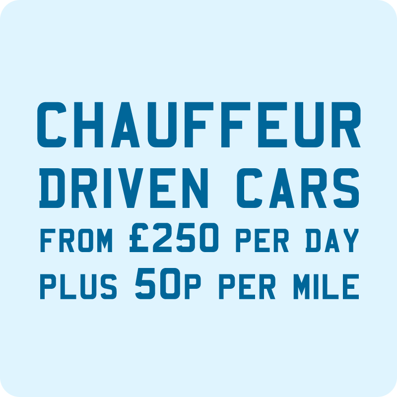 Chauffeur driven car hire Newquay