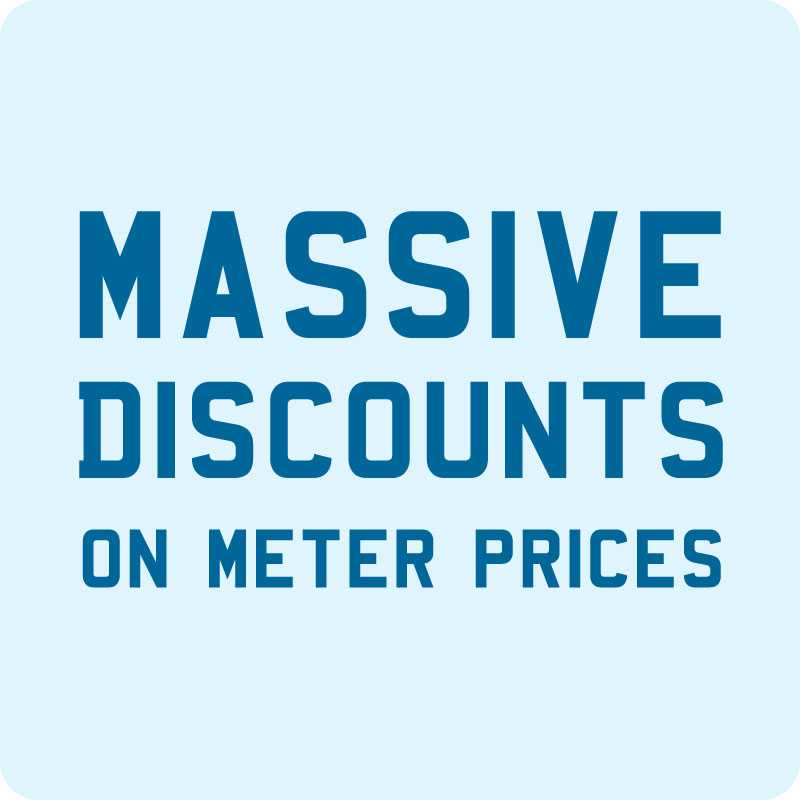 Massive discounts on Newquay taxi meter prices