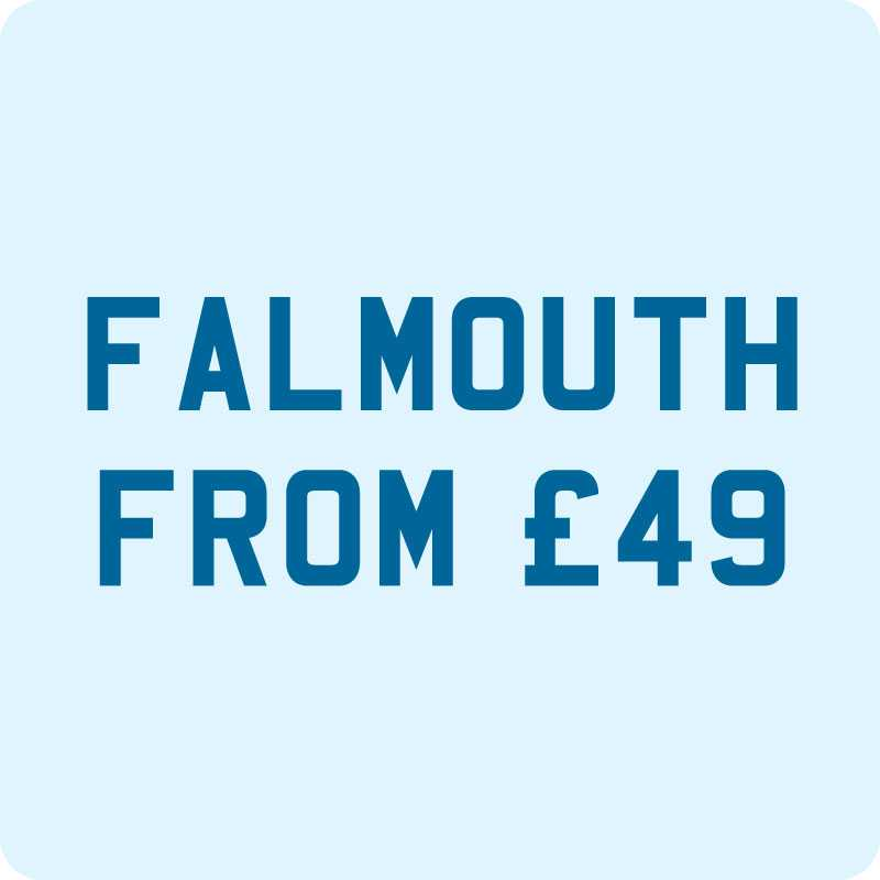 Taxi from Newquay to Falmouth £49