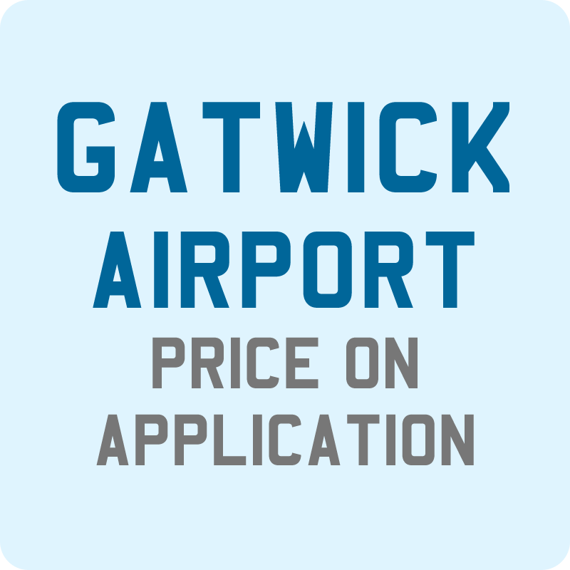 Taxi from Newquay to Gatwick Airport, price on application