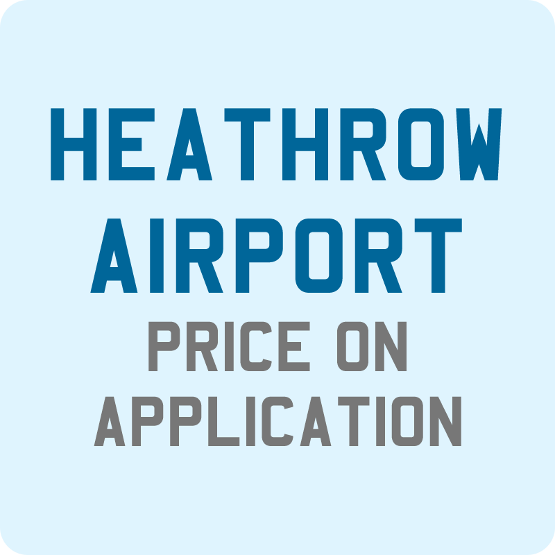 Taxi from Newquay to Heathrow Airport, price on application