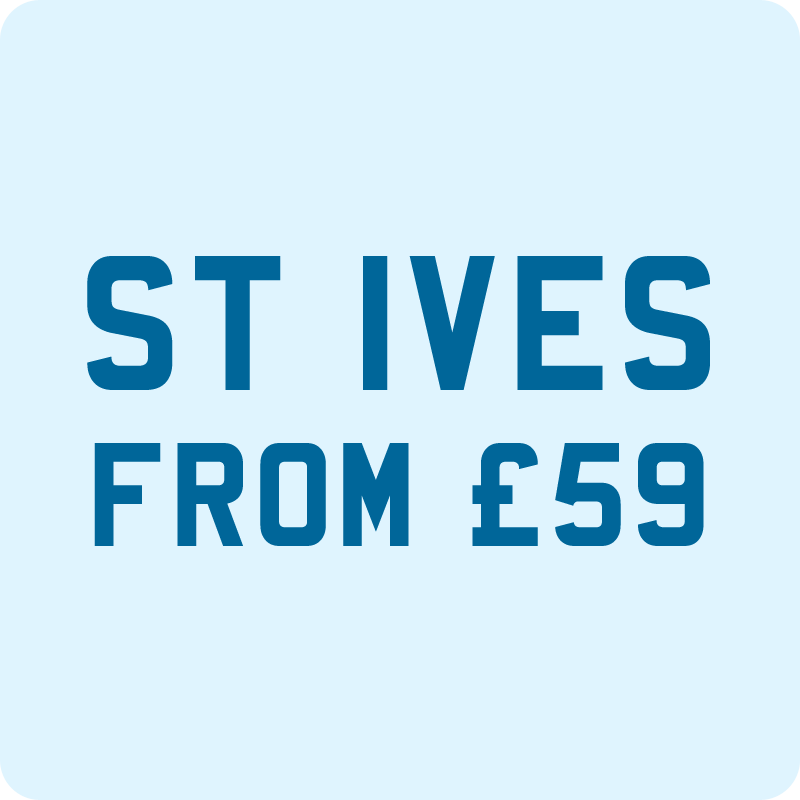 Taxi from Newquay to St Ives £59