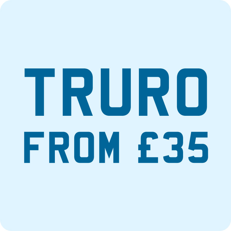 Taxi from Newquay to Truro £35